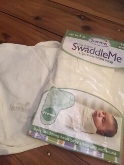 Swaddle me and growbag wraps