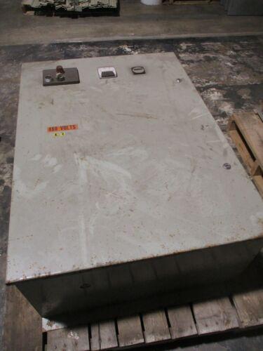 Westinghouse Vectrol Energy Saver Soft Start 64ES2-4100N-FLGQ 100HP 480V Used
