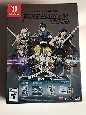 Fire Emblem Warriors Special Edition Content  Cards Cd Poster  New