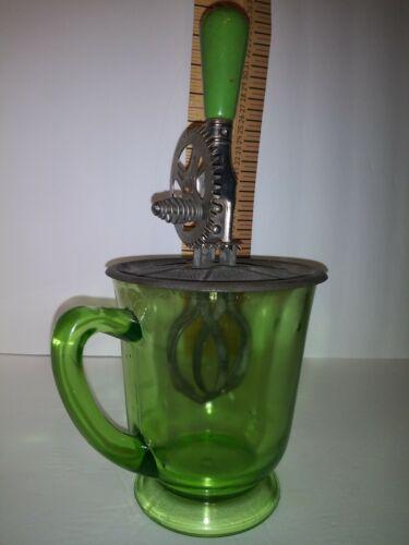 vintage HAND MIXER 4 CUP MEASURE  HAZEL ATLAS kitchen Farmhouse Decor