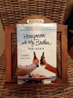 Franz Wisner, Honeymoon With My Brother, SIGNED, 1st Edition, Hardcover