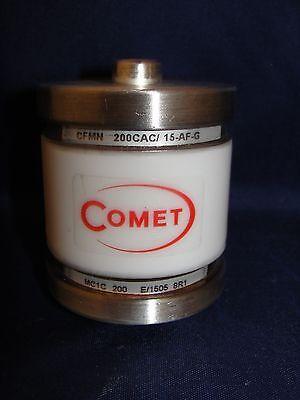 Comet Vacuum Capacitor Cfmn 200cac15-af-g Mc1c 200 E1505 8r1