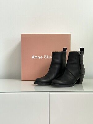 Acne Stuios Pistol Boots / Size 36 US 6 / Black leather / Great Condition!