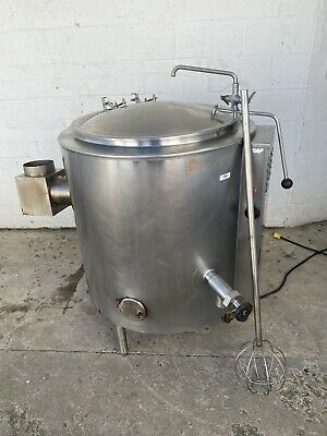 Groen Ah1e-40 40 Gallon Natural Gas Soup Steam Kettle W Whisk