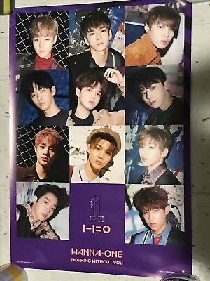 WANNA ONE Nothing Without You OFFICIAL FOLDED POSTER