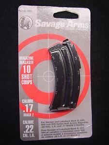 Savage Mark II 501 504 900 Series Blue Magazine 10 Rd 17 Mach 2 / 22 LR #20005