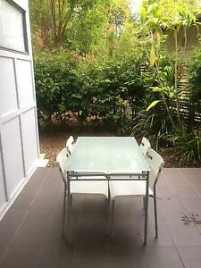 Outdoor Setting - Glass topped table & 4 Chairs Brookwater Ipswich City Preview