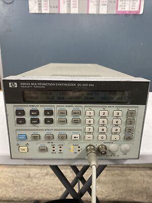 Hp Agilent Keysight 8904a Multifunction Synthesizer