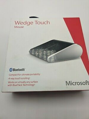 Microsoft Wedge Touch Mouse Bluetooth  - Black