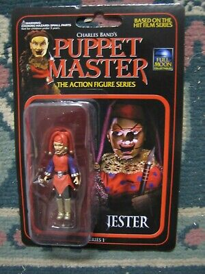 Jester ( Puppetmaster ),  2 1/2 inch figure  Brand new on card from Full Moon