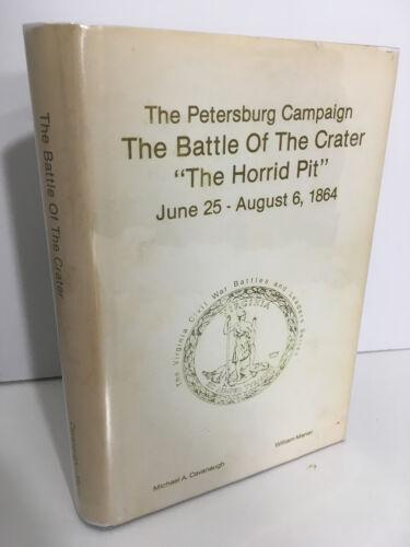 Virginia Civil War Series Petersburg Campaign 1989 HB SIGNED x2 LIMITED 530/1000