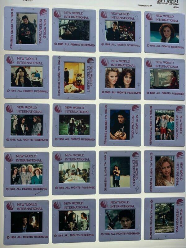 20 Heathers Movie 35mm Slides Press Kit Promo Winona Ryder Slater Vtg Lot #1
