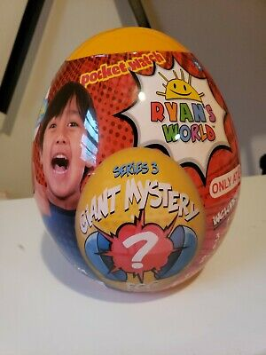 Ryan's World Giant Mystery Egg Series 3 ONLY AT TARGET exclusive