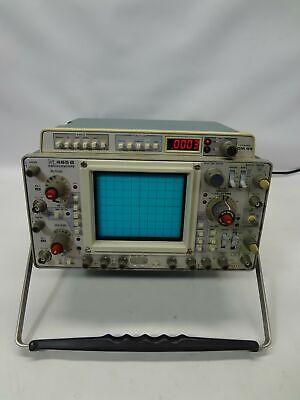 Tektronix 465b Oscilloscope With Dm 44 Multimeter