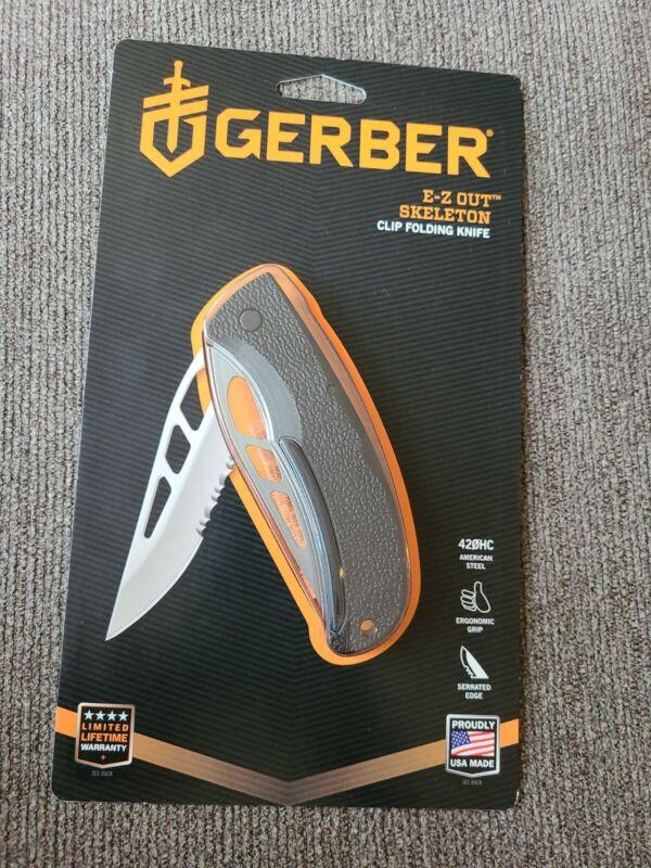 Gerber EZ-Out Skeleton Lockback Folding Knife FREE SHIPPING