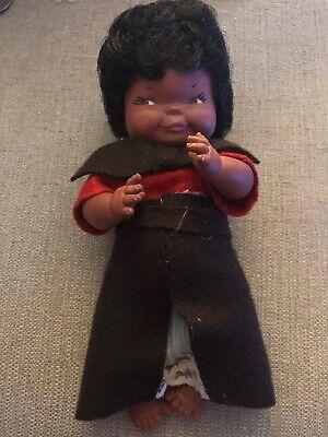 "Americana Regal (Vintage Regal Canada Doll Black Americana 9"" Curly Hair)"