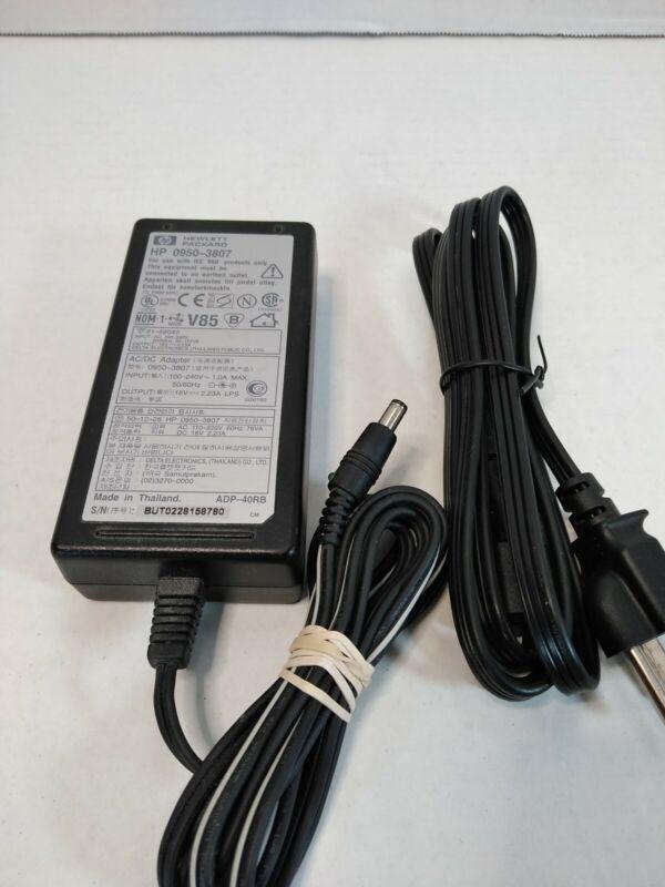 HP 0950-3807 18V OEM AC/DC Power Adapter for OfficeJet / DeskJet Printer 4.A5