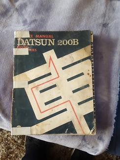 Datsun 200b service manual Bankstown Bankstown Area Preview