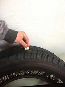 2 25570r17 Dayton timberlineA/T tires
