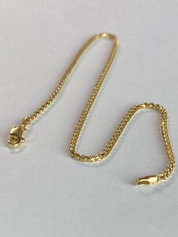 10k ITALY Yellow Gold Ankle Bracelet  Anklet Ladies Women Teen