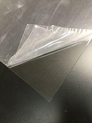 (20 pcs) Clear PETG plastic sheets .020