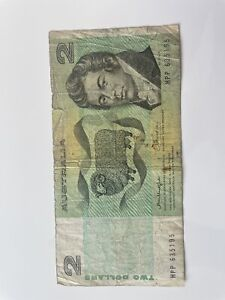 Old money $2 note