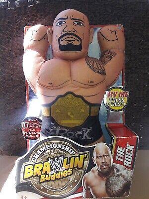 Championship Brawlin Buddies~The Rock~2013~ Stuffed Figure