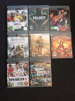 8 PlayStation 3 video games