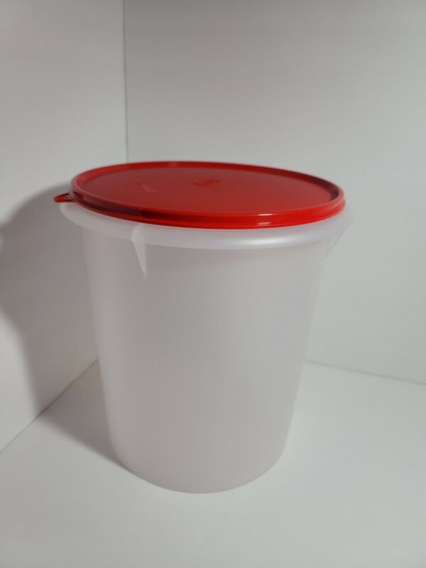 New TUPPERWARE Giant Canister 36 CUP X-Large #255 + Seal 1203 FREE US SHIPPING