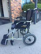 Karma Manual Foldable Wheelchair - Ergo Lite Series Phillip Woden Valley Preview