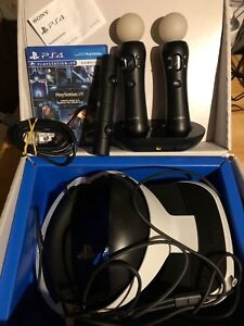 PS4 VR package