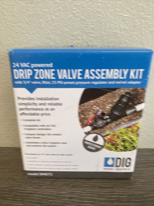 DIG DM075 Automatic Valve Assembly Kit for Drip Systems