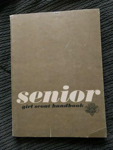 Vintage Senior Girl Scout Handbook 1963
