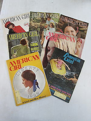 7 Different  1960S   American Girl  Magazines  Published By Girl Scouts Of U S A
