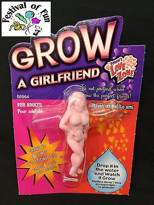 Grow a Girlfriend ~ Fun Joke Novelty ~ Funny Gift Stocking Fillet Secret Santa