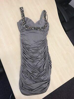 js boutique Grey Dress Size UK 12