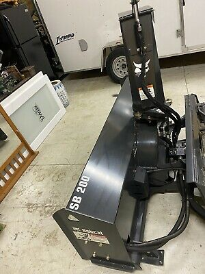 Sb200 Bobcat Snowblower 72 Skid Steer High Flow M7003 Snow Thrower Snow Plow