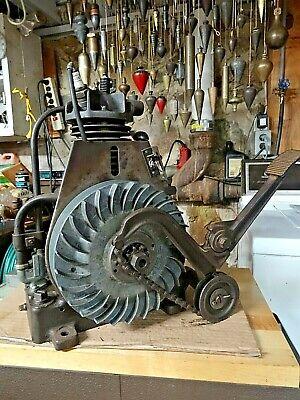 Vintage Briggs And Stratton Fh Kickstart Engine Washing Machine Lawn Mower En