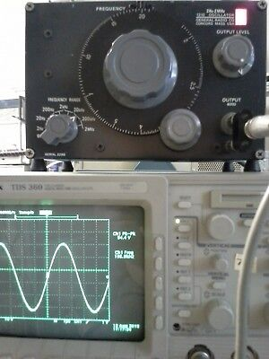 General Radio 1310 Low Distortion Sinewave Generator 2 Hz To 2 Mhz 54 V Max Out