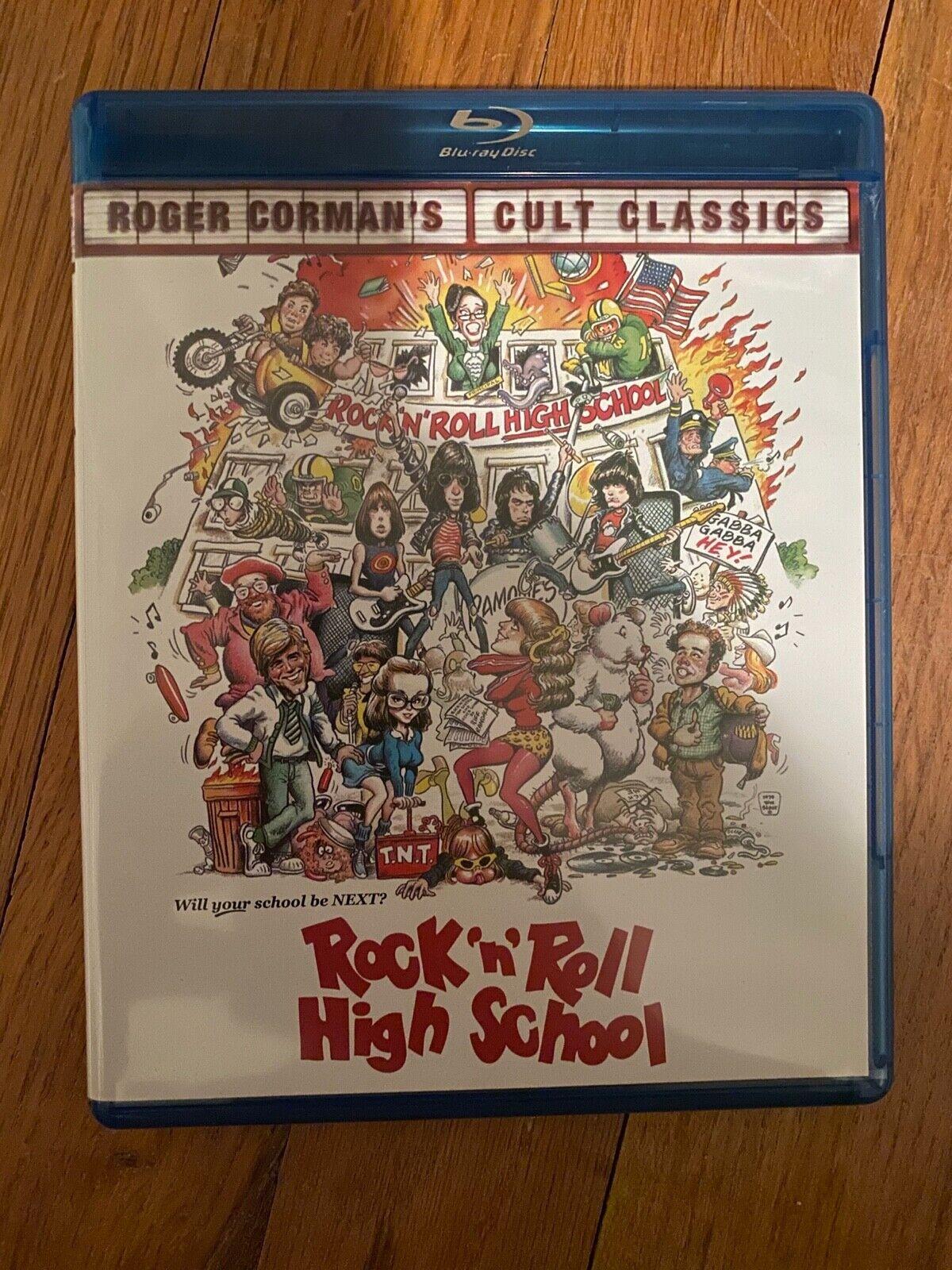 SHOUT FACTORY Rock N Roll High School Blu-ray  - $16.00