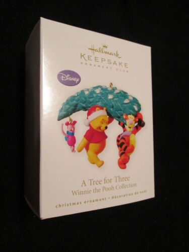 2010 Hallmark A Tree for Three Winnie the Pooh Collection