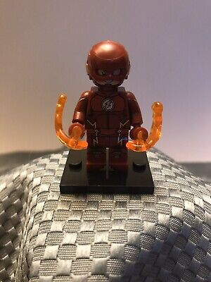 DC Custom Superhero The Flash CW Show Flash Minifigure ARRIVES IN 2-4 DAYS