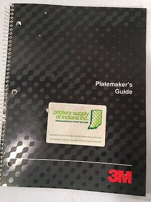 Vintage 3m Platemakers Guide