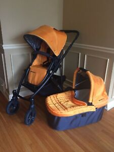 Uppababy Vista stroller & bassinet, hardly used