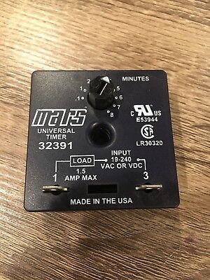 Mars Universal Timer 32391 1 To 8 Minutes