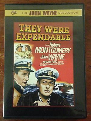They Were Expendable (DVD, 2007)*John Wayne