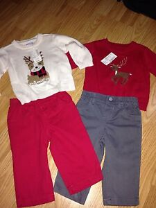 BNWT**6-9 month 2 piece outfits**$10**