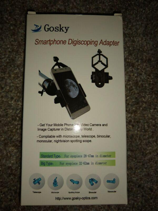 Gosky Smartphone Digiscoping Adapter (Telescope)