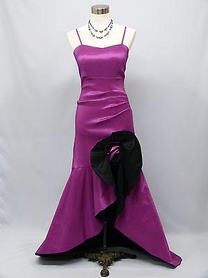 Cherlone Purple Ballgown Bridesmaid Formal Long Wedding/Evening Dress 12-14