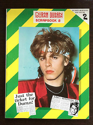 Vintage Duran Duran Scrapbook UK Volume 2 1983 newspaper cuttings and photos